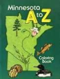 img - for Minnesota A to Z: Coloring Book book / textbook / text book