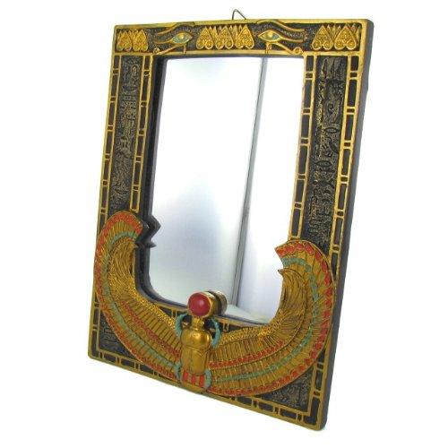 Petit miroir egyptien ailes d 39 isis entr e for Miroir egyptien