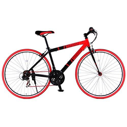 DOPPELGANGER(ドッペルギャンガー) 402 sanctum 700x28C クロスバイク【軽量アルミフレーム】シマノ 21段変速 リジッドフォーク Liberoシリーズ