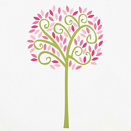 CoCaLo Audrey Jumbo Tree Wall Decal Set, Pink