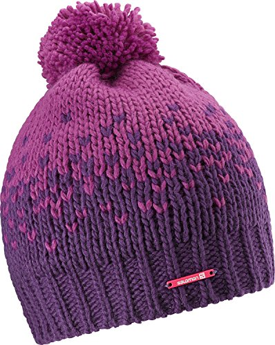 Berretto da donna Salomon Pearl Beanie W, Aster Purple/cosmic Purple, Uni, L37609900
