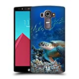 Head Case Designs Sea Turtle Sitting On Coral Reef Wildlife Hard Back Case Cover for LG G4 / H815 / H810