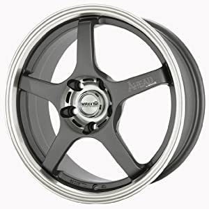 17x7 Maxxim Ahead (Graphite) Wheels/Rims 5x114.3 (AH77514426)