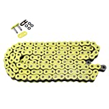 530 Pitch 110 Links Yellow O Ring Chain for Harley Davidson XLH883 XLH1200 Sportster 1984 1985 1986 1987 1988 1989 1990 1991 1992