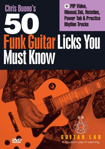 50 Funk Licks You Must Know [DVD] [2011] [Region 1] [US Import] [NTSC]