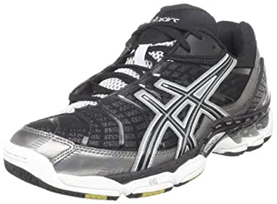 ASICS Men's GEL Volley Elite Volleyball Shoe,Black/Gun Metal/White,10.5 M US