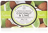 Tropical Fruits Coconut & Lime Triple Milled Soap 200g