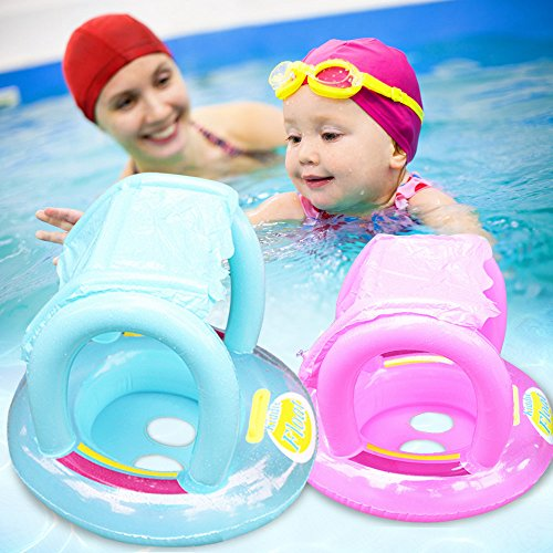 sealive-kids-baby-toddler-swimming-pool-swim-seat-float-boat-ring-with-sunshade-protect-from-harmful