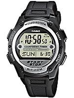 Casio W-756-1AVEF Mens Digital Resin Strap Watch