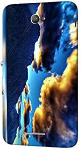 Timpax protective Armor Hard Bumper Back Case Cover. Multicolor printed on 3 Dimensional case with latest & finest graphic design art. Compatible with Sony Xperia E4 Design No : TDZ-28396