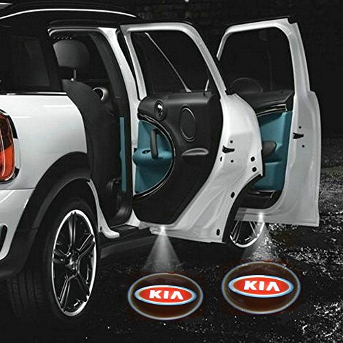 2 X 2014 Latest 6Th Gen Car Door Shadow Laser Projector Logo Led Light For Kia All Series Sorento Ceed Cerato Carnival Sporage R Ceed Sw Rio Soul Optima Venga