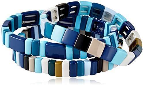 Baja-East-Set-Of-3-Bracelets-In-Blue