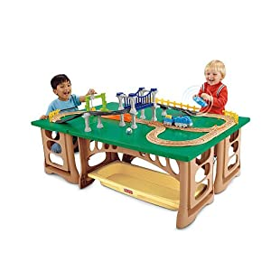Fisher-Price GeoTrax Train Table and RC Set (Age: 2 years and up) from Fisher-Price Fisher-Price