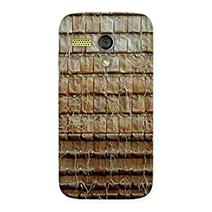 Cute Wall Back Case Cover for Moto G