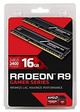 AMD Radeon Memory R9 Gamer Series DDR3-2400 8GB*2枚 R9316G2401U2K