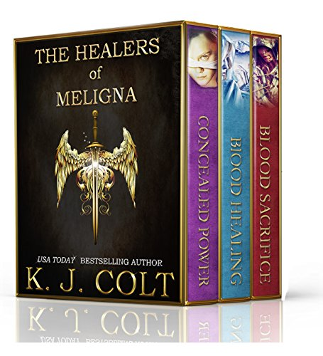 Box Set Alert!! 3 great books for .99 cents! Free Sample of U.S.A Today Bestselling author Kylie J. Colt's The Healers of Meligna Series Boxed Set (Books 1,2,3)