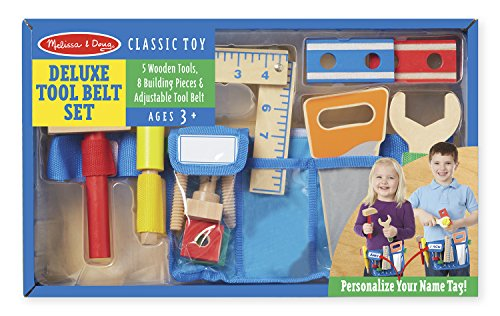 Melissa & Doug Deluxe Tool Belt Set (Childrens Tool Belt compare prices)