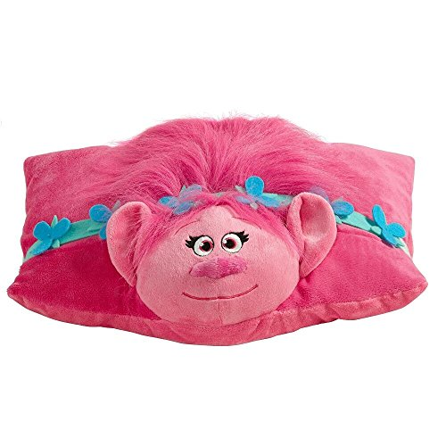 Animal Toy Pillow : DreamWorks Trolls Pillow Pets - Poppy Stuffed Animal Plush Toy