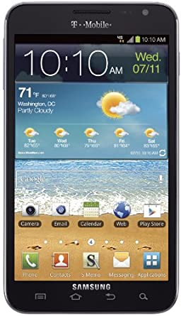 Samsung Galaxy Note 4G Android Phone, Navy Blue (T-Mobile)