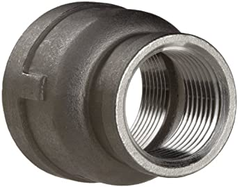 Stainless Steel 316 Cast Pipe Fitting, Reducing Coupling, Class 150, NPT Female
