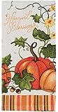 Kay Dee Designs H2530 Harvest Blessings Pumpkin Cotton Terry Towel