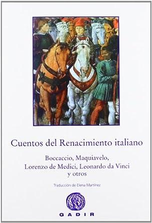 Cuentos del renacimiento italiano