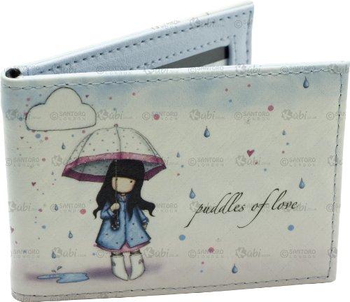 Gorjuss Puddles Of Love Travel Card Holder - Kubi #246EC02