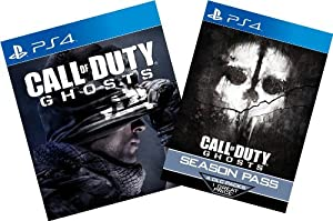 Call of Duty Ghosts Digital Bundle: Game + Season Pass - PS4 [Digital Code] by Sony PlayStation Network