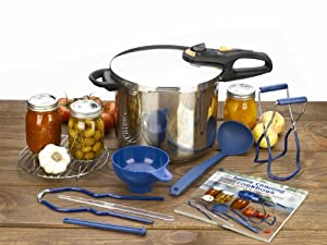 Fagor Duo 10 Piece Stainless Steel Pressure Canning Set