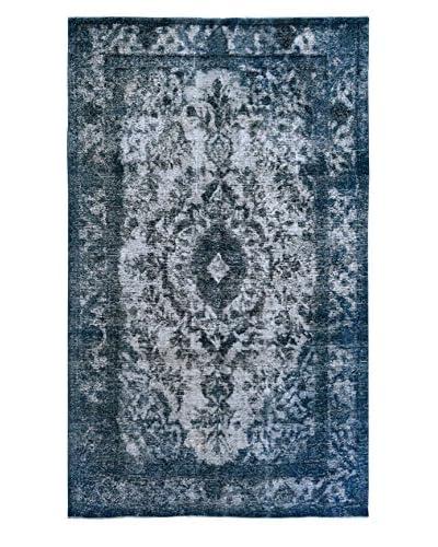 Kalaty One-of-a-Kind Pak Vintage Rug, Blue/Grey, 6' 4 x 10'