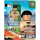 MLB San Francisco Giants Buster Posey Generation 4 Mini Figure, Small, Black