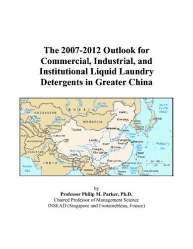 The 2007-2012 Outlook For Commercial, Industrial, And Institutional Liquid Laundry Detergents In Greater China front-188523