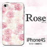 iPhone 4S/4対応 携帯ケース【373Rose】