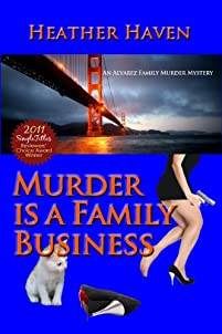Murder Is A Family Business by Heather Haven ebook deal
