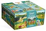 Ludattica 51373 - Giant Puzzle Dinoland
