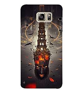 EPICCASE Mind burst Mobile Back Case Cover For Samsung Note 6 (Designer Case)
