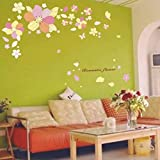 Studio Briana Colourful Flower Wall Décor Decal