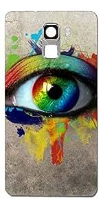 SEI HEI KI Designer Back cover for Huawei Honor 7-Multicolor