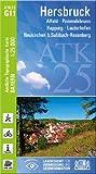 ATK25-G11 Hersbruck (Amtliche Topographische Karte 1:25000): Alfeld, Pommelsbrunn, Happug, Lauterhofen, Neukirchen b.Sulzbach-Rosenberg