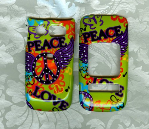 PEACE Pantech Breeze II 2 P2000 AT&T PHONE COVER CASE [Wireless Phone Accessory] (Pantech Breeze P2000 compare prices)