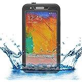 iProtect Samsung Galaxy Note 3 wasserdichtes Outdoor Case Schutzhülle in schwarz