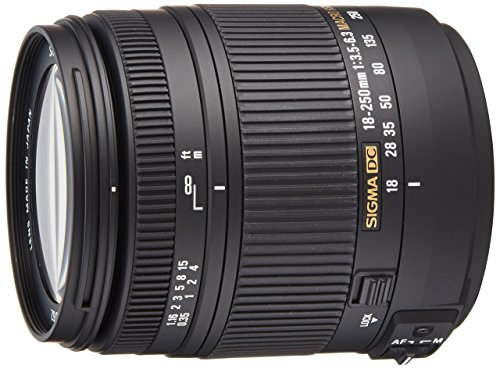 Sigma 18-250 mm f/3.5-6.3 DC Macro OS HSM Lens for Canon
