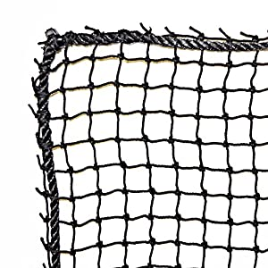 JFN Nylon Golf High Impact Net, Black