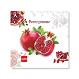 Cello Pomegranate Square Melamine Coaster Set, 10cm, Set Of 6, Multicolour