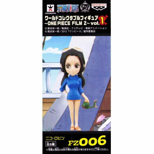 One Piece World Collectable Figure ~ ONEPIECE FILM Z ~ Vol1 Robin (japan import) - 1