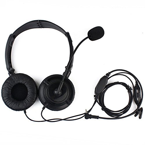 1-Pin-Overhead-Headset-IFeng-Noise-Cancelling-Foldable-Swivel-Sponge-VOX-PTT-MIC-Earpiece-Headphones-with-Boom-Mic-for-25mm-Motorola-Radio