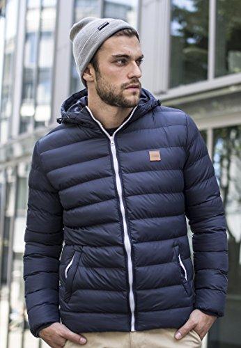 Urban Classics Basic Flap Beanie, Farbe:grey;Größe:one size