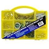 290-Piece Assortment Set - Organize Home and Workshop