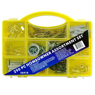 Capri Tools 290-Piece Assortment Set - Organize