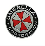 Salusy Umbrella Corporation Aluminium Decal Badge Emblem for Universal Cars